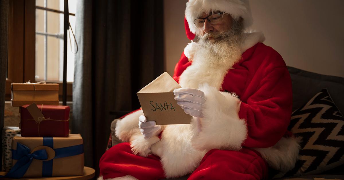 Како да напишете писмо до Дедо Мраз?