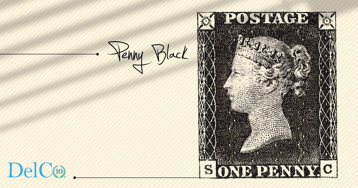 Penny Black – првата поштенска марка